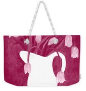 Ashes Of Roses Tulips Weekender Tote Bag