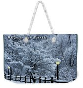 Asheville Peace Card Weekender Tote Bag