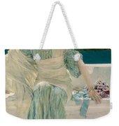 Ask Me No More Weekender Tote Bag by Sir Lawrence Alma-Tadema
