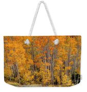 Aspen Forest In Fall - Wasatch Mountains - Utah Weekender Tote Bag