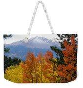Aspen Grove And Pikes Peak Weekender Tote Bag
