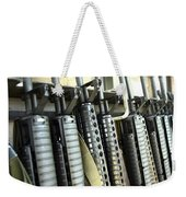 Assault Rifles Stand Ready Weekender Tote Bag