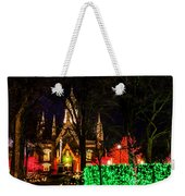 Assembly Hall Slc Christmas Weekender Tote Bag