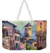 Assisi Street Scene Weekender Tote Bag by Lydia Irving