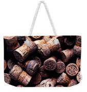 Assorted Champagne Corks Weekender Tote Bag by Garry Gay