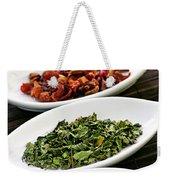 Assorted Herbal Wellness Dry Tea In Bowls Weekender Tote Bag