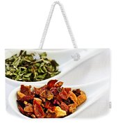 Assorted Herbal Wellness Dry Tea In Spoons Weekender Tote Bag