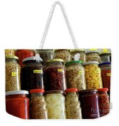 Assorted Spices Weekender Tote Bag by Carlos Caetano