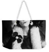 Asta Nielsen (1881-1972) Weekender Tote Bag