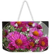 Aster Named September Ruby Weekender Tote Bag