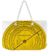 Astrolabe Weekender Tote Bag by Omikron