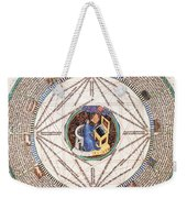 Astrologer In The Zodiac Weekender Tote Bag by Science Source