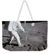 Astronaut During Apollo 11 Weekender Tote Bag