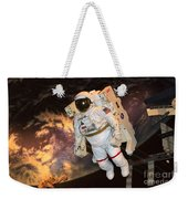 Astronaut In A Space Suit Weekender Tote Bag