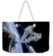 Astronauts Weekender Tote Bag