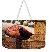 At Ellis Island Weekender Tote Bag