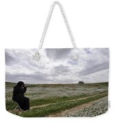 At Lachish Anemone Fields Weekender Tote Bag