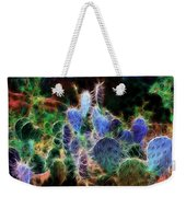 At Night The Desert Glows Weekender Tote Bag