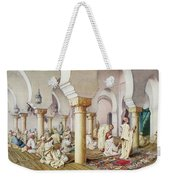 At Prayer In The Mosque Weekender Tote Bag