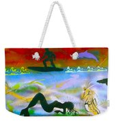 At Sea Gold Weekender Tote Bag