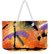 At Sunshine Crossing Weekender Tote Bag
