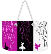 At The Ballet Triptych 2 Weekender Tote Bag