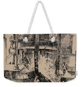 At The Blast Furnace Weekender Tote Bag