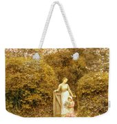 At The Cottage Gate Weekender Tote Bag