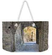 At The End Of The Passageway Weekender Tote Bag