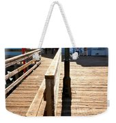 At The Piers End Weekender Tote Bag
