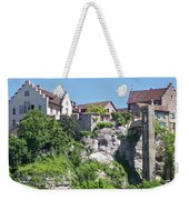 At The Rhine Falls Weekender Tote Bag