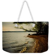 At The River Bend Weekender Tote Bag