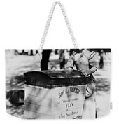 Atget: Delivering Bread Weekender Tote Bag