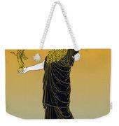 Athena, Greek Goddess Weekender Tote Bag