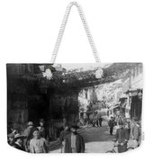 Athens Greece  C 1903 - Aeolos Street And The Stoa Of Hadrian Weekender Tote Bag