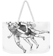 Athletics: Track, 1890 Weekender Tote Bag by Granger