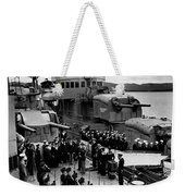 Atlantic Charter, 1941 Weekender Tote Bag
