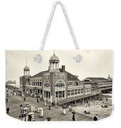Atlantic City Steel Pier 1910 Weekender Tote Bag