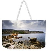Atlantic Coast In Newfoundland Weekender Tote Bag