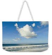 Atlantic Ocean Waves Break On The Beach Weekender Tote Bag