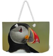 Atlantic Puffin Portrait Weekender Tote Bag