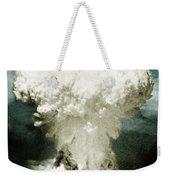 Atomic Bombing Of Nagasaki Weekender Tote Bag