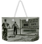 Atomic City Tennessee In The Fifties Weekender Tote Bag