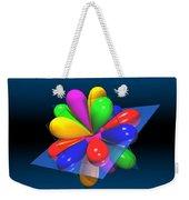 Atomic Orbitals Weekender Tote Bag