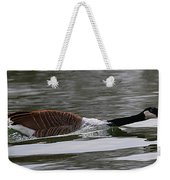 Attack Of The Canadian Geese Weekender Tote Bag