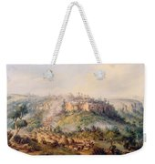 Attack On Stocks Kraall In The Fish River Bush Weekender Tote Bag