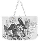 Attack On Sumner, 1856 Weekender Tote Bag by Granger