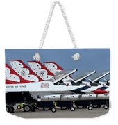 Attention Thunderbirds Weekender Tote Bag