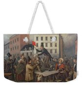 Auction In Chatam Street Weekender Tote Bag