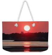 Aura Of A Sunset Weekender Tote Bag by Meandering Photography